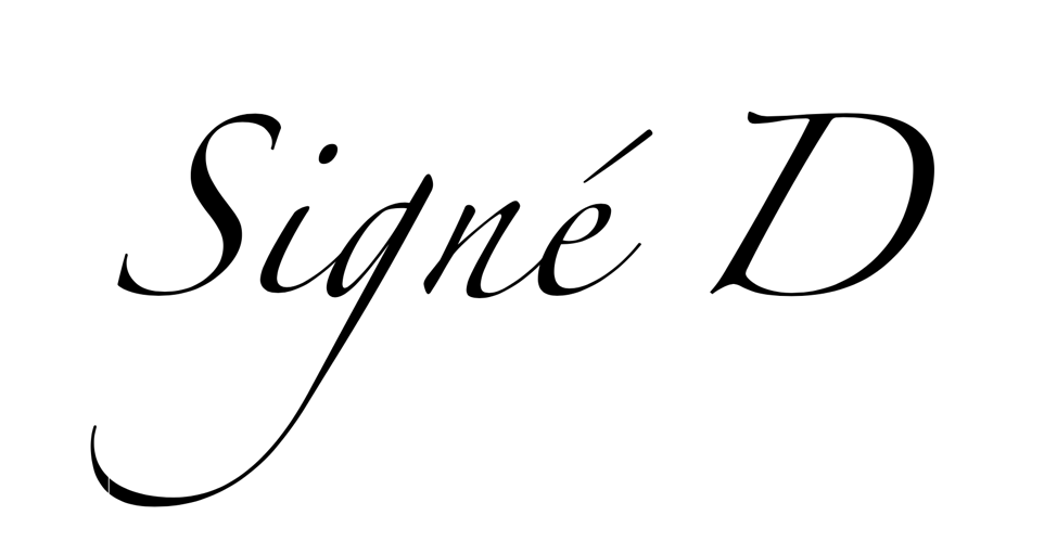 Signé D